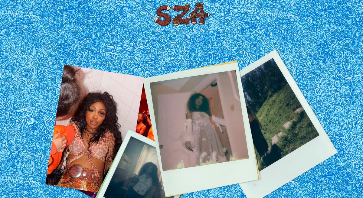 SZA's CTRL album site